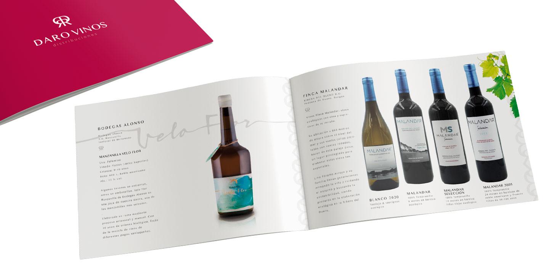 Catálogo de Vinos Daro Vinos Distribuciones Venta de Vinos Cádiz 2021