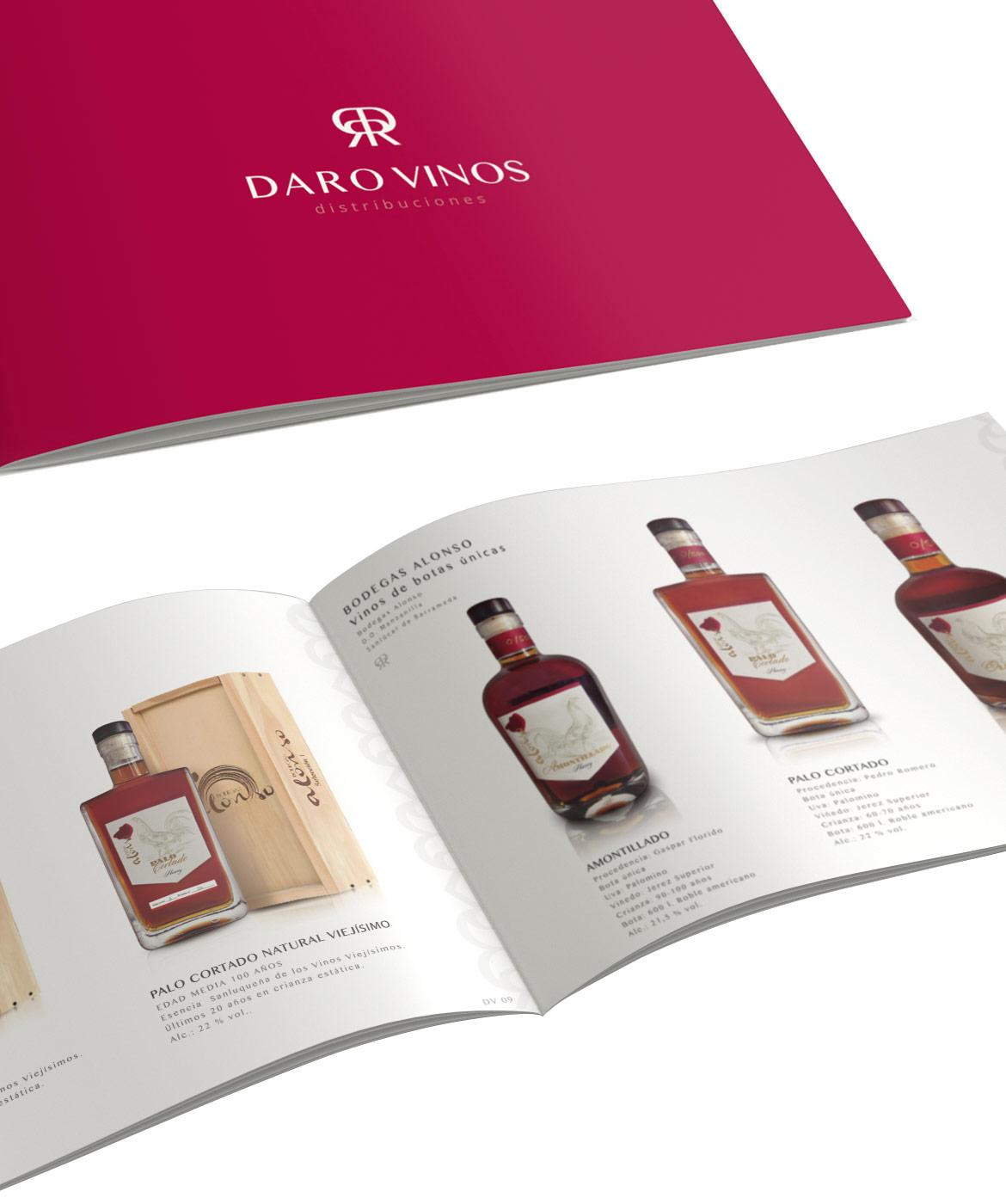 Daro Vinos DIstribuciones Catálogo de Vinos Cádiz El Puerto Santa María 2021